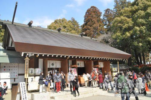 常盤神社 拝殿
