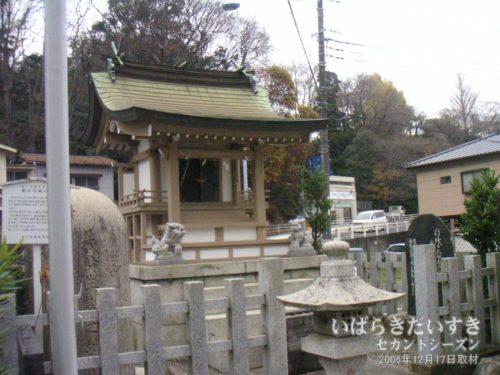 【 水戸黄門神社 / 義公生誕之地 】<br>義公(徳川光圀/水戸黄門)を祀った神社。