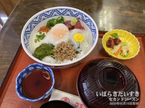 ねばり丼 (偕楽園レストハウス)