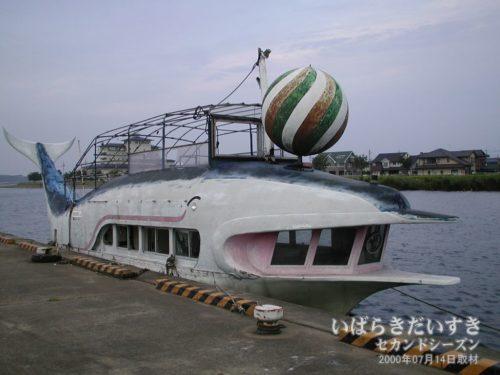 土浦港 遊覧船 フリッパー号