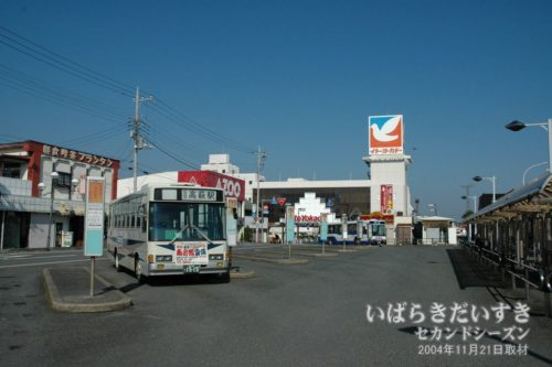【 イトーヨーカドー 高萩店 】<br /> ヨーカドー内にケンタッキーフライドチキン(KFC)の店があり、チキンフィレサンドを持ち帰りで購入しました。