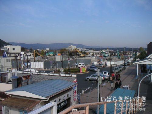 解体中のイトーヨーカドー高萩店 / 2005年11月