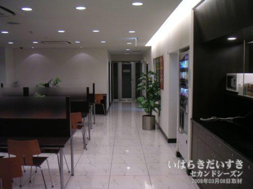 改修前の2階朝食フロア:スーパーホテル水戸