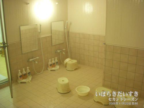 洗い場も、若干設計が異なっています。