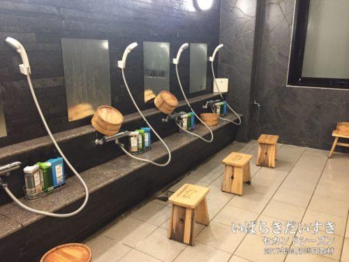 大浴場:洗い場