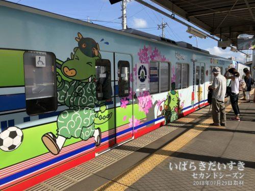 関東鉄道 竜ヶ崎線 まいりゅうくん ラッピング