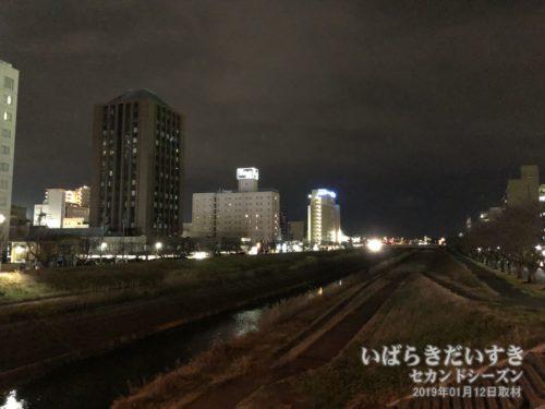 水戸プリンスホテルと東横イン水戸南口店