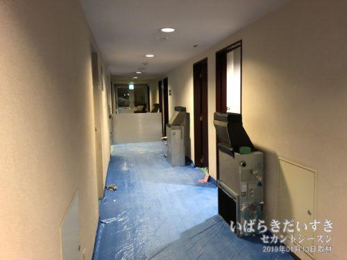 2019年01月ころ、2階のリフレッシュ工事。