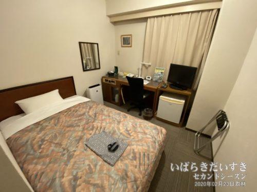 シングルルーム:水戸プリンスホテル