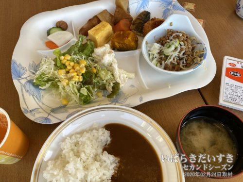 無料朝食(一例):水戸プリンスホテル