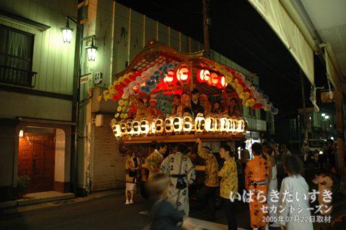 江戸崎祇園祭:西町芸座連