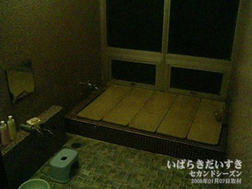 家族風呂(シャワーがなかった):吉見屋旅館