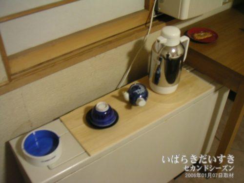 お茶セット:吉見屋旅館