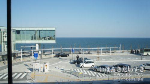 常磐線 JR日立駅 ガラスの駅舎