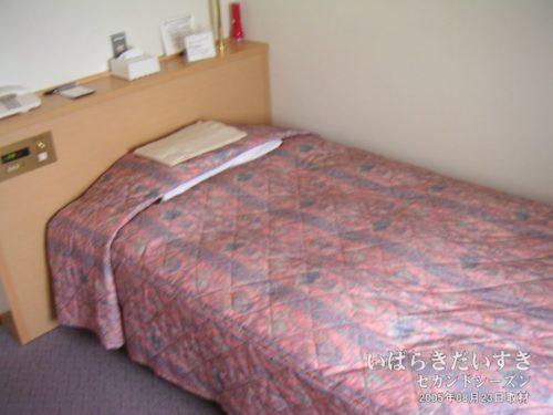 ベッド:ホテルルートつくば