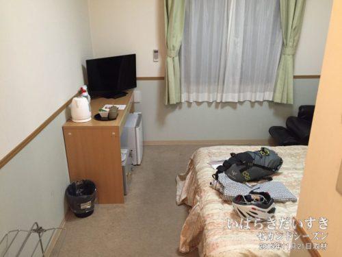 シングルルーム:ホテル奥久慈館