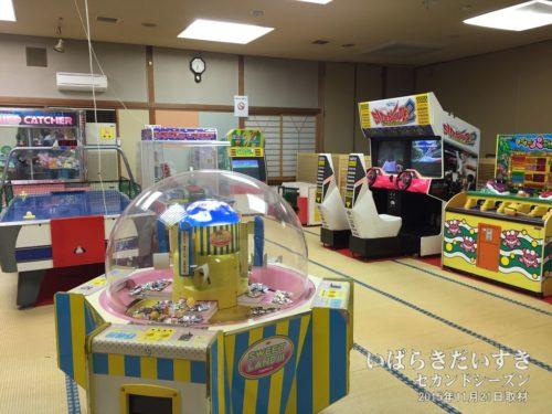 ゲームコーナーフロア:ホテル奥久慈館