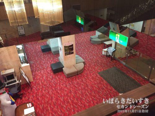 エントランスを上から望む:ホテル奥久慈館