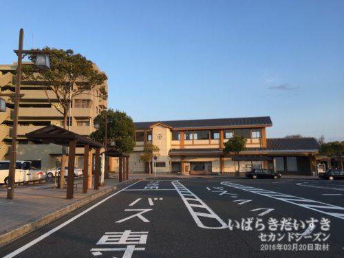 JR磯原駅 駅舎