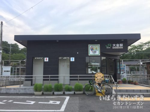 烏山線 JR大金駅 駅舎