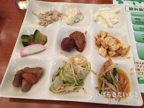 夕食:大金温泉グランドホテル