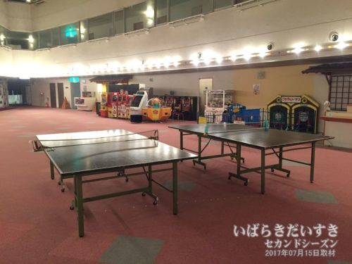 卓球台:大金温泉グランドホテル