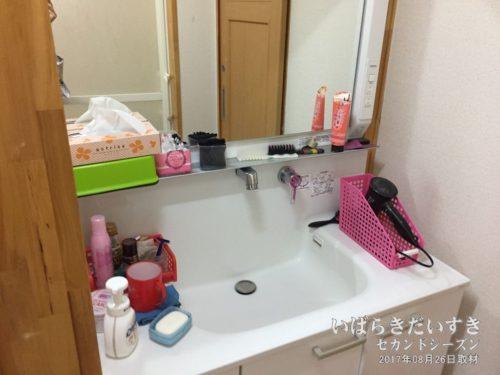 洗面所(浴室):旅館東京庵