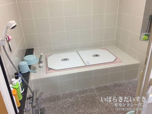 浴室(湯船):旅館東京庵