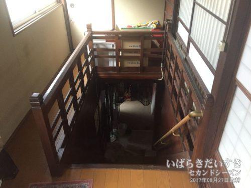 大階段:旅館東京庵