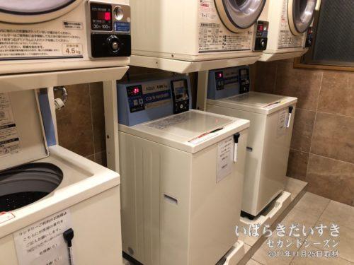 洗濯機:有料ですが、助かります。
