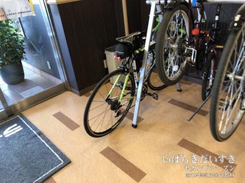 館内 自転車置き場:ライフイン土浦東