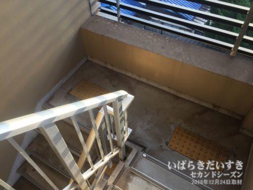 非常階段からもアクセスできます。