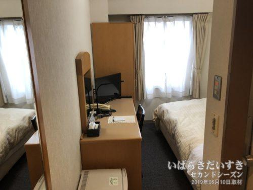 シングルルーム:水戸リバーサイドホテル