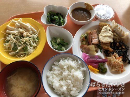 無料朝食:水戸リバーサイドホテル