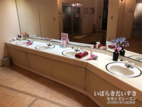 洗面所(大浴場):大金温泉グランドホテル
