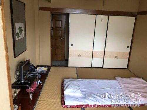 なかなか広い部屋:北條館別館