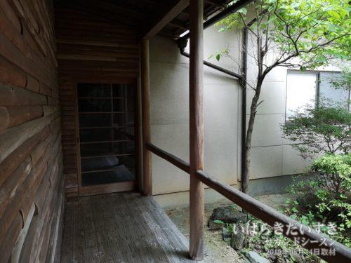 大浴場への廊下:北條館別館