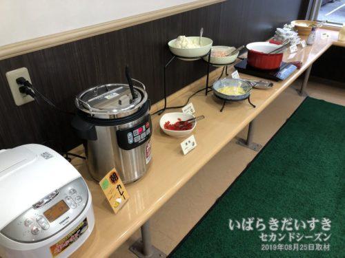 食材陳列の一例:ライフイン土浦東