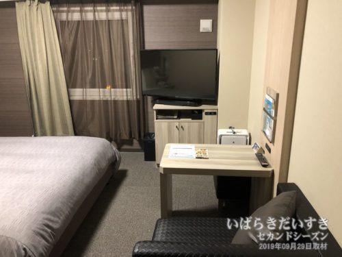 シングルルーム:ホテルルートイン石岡