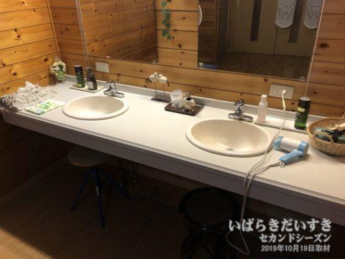 大浴場 洗面場:ホテル鮎亭