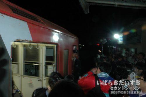 日立電鉄線_最終列車_大甕駅