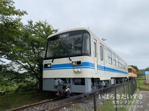 鹿島鉄道鉾田線 車両 KR-505(静態保存)