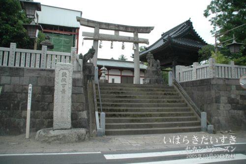 茨城百景 074 阿波の大杉神社