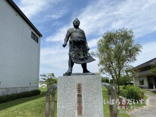 第七代横綱 稲妻雷五郎像(稲敷市立歴史民俗資料館)