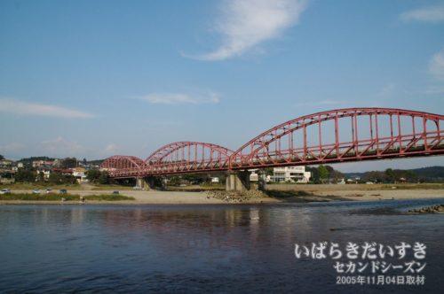 茨城百景 包括風景 那珂川大橋
