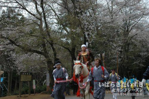 日枝神社の流鏑馬(2006年撮影)