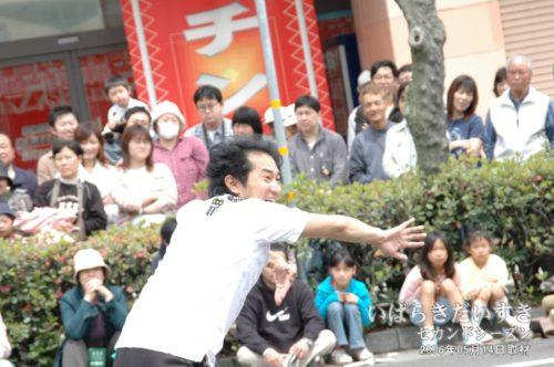 若かりし サンキュー手塚氏。(2006年撮影)
