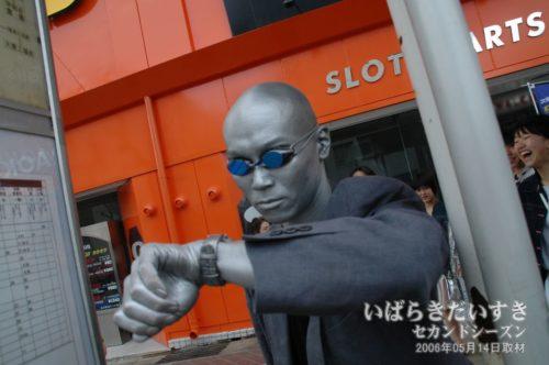 若かりし un-pa(しげもり)氏。(2006年撮影)