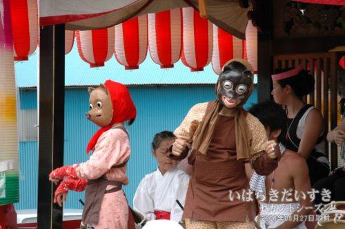 大貫町の山車:大洗八朔祭2006