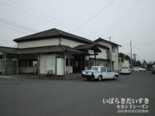 水戸線 JR岩瀬駅 駅舎(2003年撮影)
